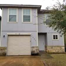 Rental info for 4947 South Cancun in the Houston area