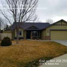 Rental info for 2736 N. Betula Ave in the Boise City area