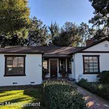 Rental info for 22 Brookside Ave. in the San Jose area