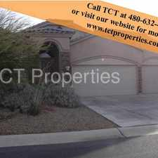 Rental info for Beautiful 3 Bedroom Home at Las Sendas!!! in the Mesa area