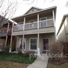 Rental info for 419 W Hale St in the Boise City area