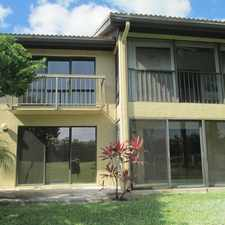 Rental info for 5312 Fountains Drive South in the Greenacres area