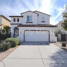 Rental info for Spectrum at Val Vista! Beautiful 3 Bedroom Home! in the Gilbert area