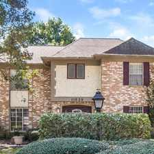 Rental info for 11639 Idlebrook Drive in the Houston area