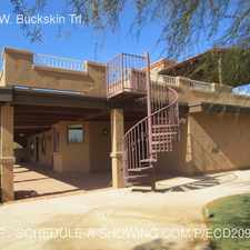 Rental info for 9125 W. Buckskin Trl.