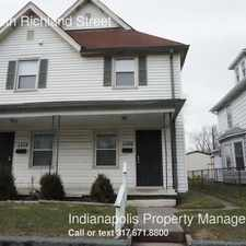 Rental info for 1130 South Richland Street in the Indianapolis area