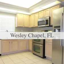 Rental info for House For Rent In WESLEY CHAPEL.