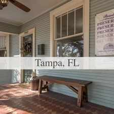 Rental info for House For Rent In TAMPA. Parking Available! in the Tampa area