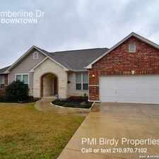 Rental info for 26311 Timberline Dr in the San Antonio area