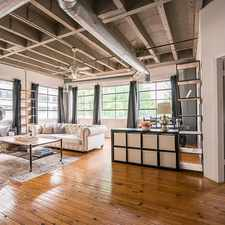 Rental info for Lofts at 900 Peachtree in the Brookwood Hills area