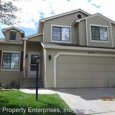 Rental info for 6145 Joshua Court in the Colorado Springs area