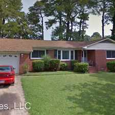 Rental info for 1224 Nero Dr in the Chesapeake area