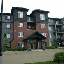 Rental info for 646 McAllister Loop in the Anthony Henday South area