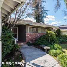 Rental info for 6754 Crosby Court in the San Jose area
