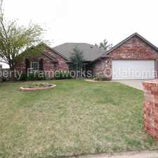 Rental info for Beautiful Home in Edmond Schools in the Oklahoma City area