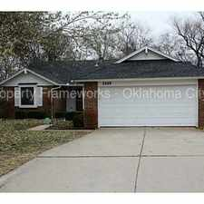 Rental info for Cute 3 Bed in Edmond Schools. in the Oklahoma City area