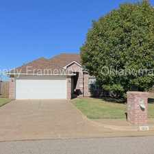 Rental info for Charming Home in Edmond Schools in the Oklahoma City area