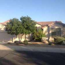 Rental info for North Scottsdale Home--Pinnacle Reserve