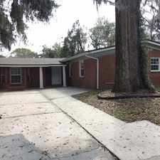 Rental info for Spacious Hard to Find 4/2 with Fireplace and Fenced Yard in Jacksonville FL