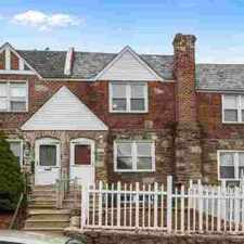 Rental info for 606 Briarcliff Rd Upper Darby Three BR, This home is situated on