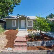 Rental info for Pet Friendly 2+1 House In Eugene