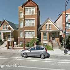 Rental info for 2222 W. Augusta Blvd. Unit 1 in the Chicago area