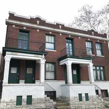Rental info for 2752 A Keokuk St. in the St. Louis area