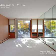 Rental info for 4023 14th Ave S in the Minneapolis area