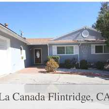 Rental info for Gorgeous Home In La Canada School District. Wil... in the Los Angeles area