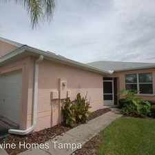 Rental info for 11412 Captiva Kay Dr in the Riverview area
