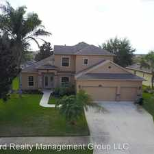 Rental info for 2795 Imperial Point Terrace in the Clermont area
