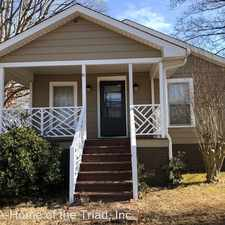 Rental info for 3918 North Church Street in the Greensboro area
