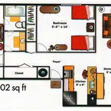Rental info for Upper Floor 2 Bed / 1 Bath Apartment In Great L... in the Ocala area