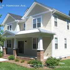 Rental info for 1704 W. Markham Ave. in the Durham area