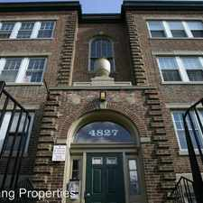 Rental info for 4839 Pine Street in the Philadelphia area