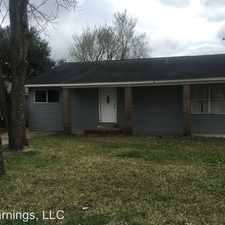 Rental info for 10902 Invierno in the Houston area