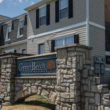 Rental info for Copper Beech Townhomes in the Mount Pleasant area