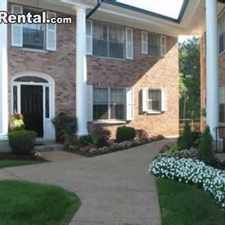 Rental info for Two Bedroom In St Louis in the Webster Groves area