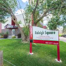 Rental info for Raleigh Square Apartments in the Red Deer area