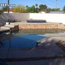 Rental info for $3395 4 bedroom House in Pima (Tucson) in the Jefferson Park area