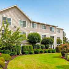 Rental info for Rainier Vista Apartments