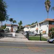 Rental info for DOWNSTAIRS UNIT with patio. Gated parking lot. Peaceful Quiet neighborhood. Dishwasher, Refrigerator, Stove/Oven and Air Conditioner included in rent. Community BBQ area. ON SITE LAUNDRY ROOM. in the San Diego area