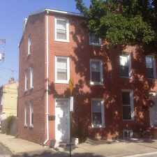 Rental info for Newly renovated, 3 story, big 4 bedroom,end of block, central A/C & heat,new range & dishwasher,landscaped backyard with privacy fence,new carpet & located next to playground! Also across from B&O Railroad Museum, & convenient to transportation. in the Hollins Park area