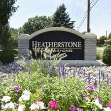 Rental info for Heatherstone Apartment Homes