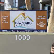 Rental info for Townhome Villas in the Paradise area