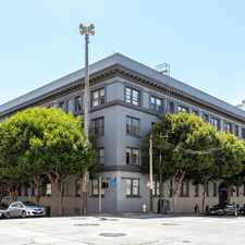 Rental info for 825 Post St. in the Lower Nob Hill area
