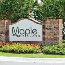 Rental info for Maple Village
