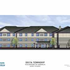 Rental info for Delta River Senior Village in the Waverly area