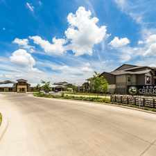 Rental info for Legacy Creekside in the San Antonio area
