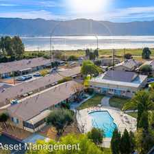 Rental info for 150 E. Lakeshore Drive - 44 in the Lake Elsinore Hills District area